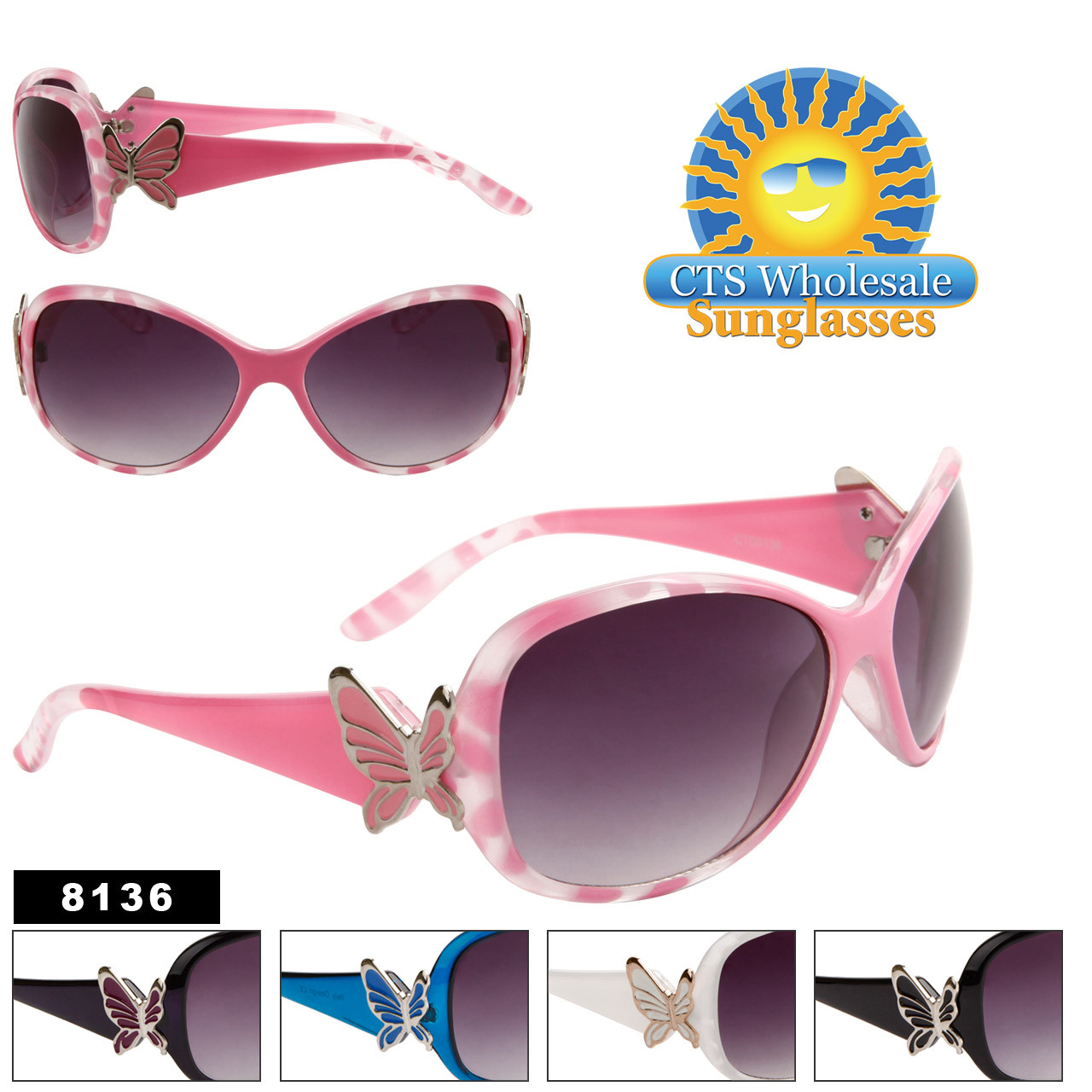 Wholesale Fashion Sunglasses 8136