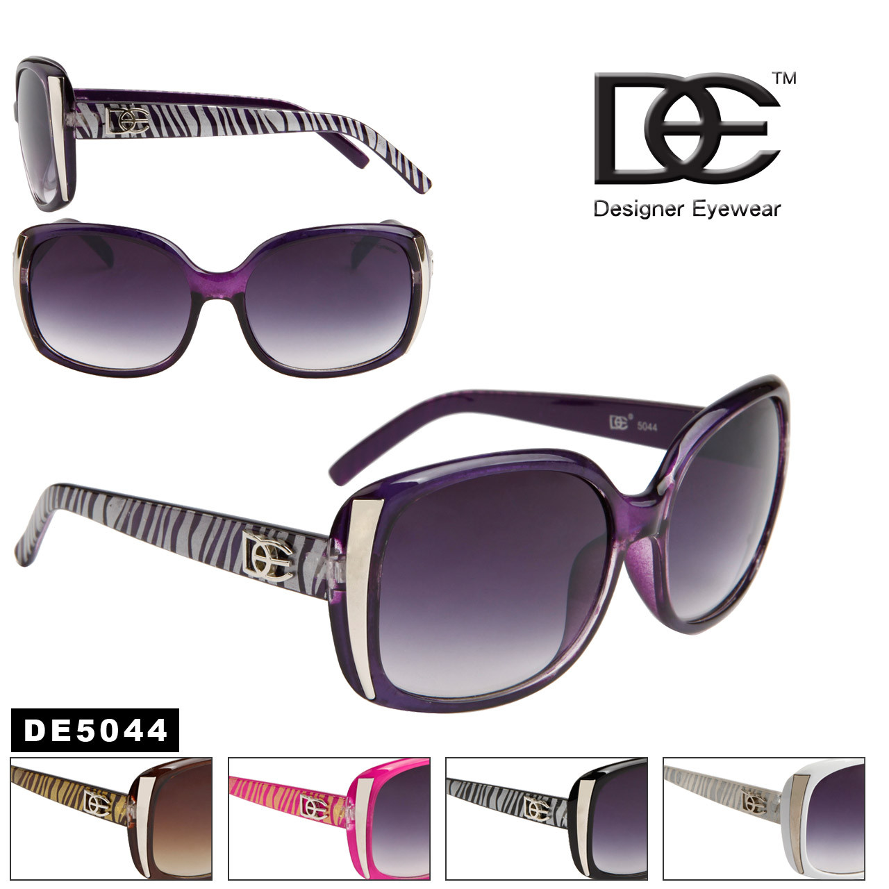 Women's Designer Sunglasses by the Dozen - DE5044
