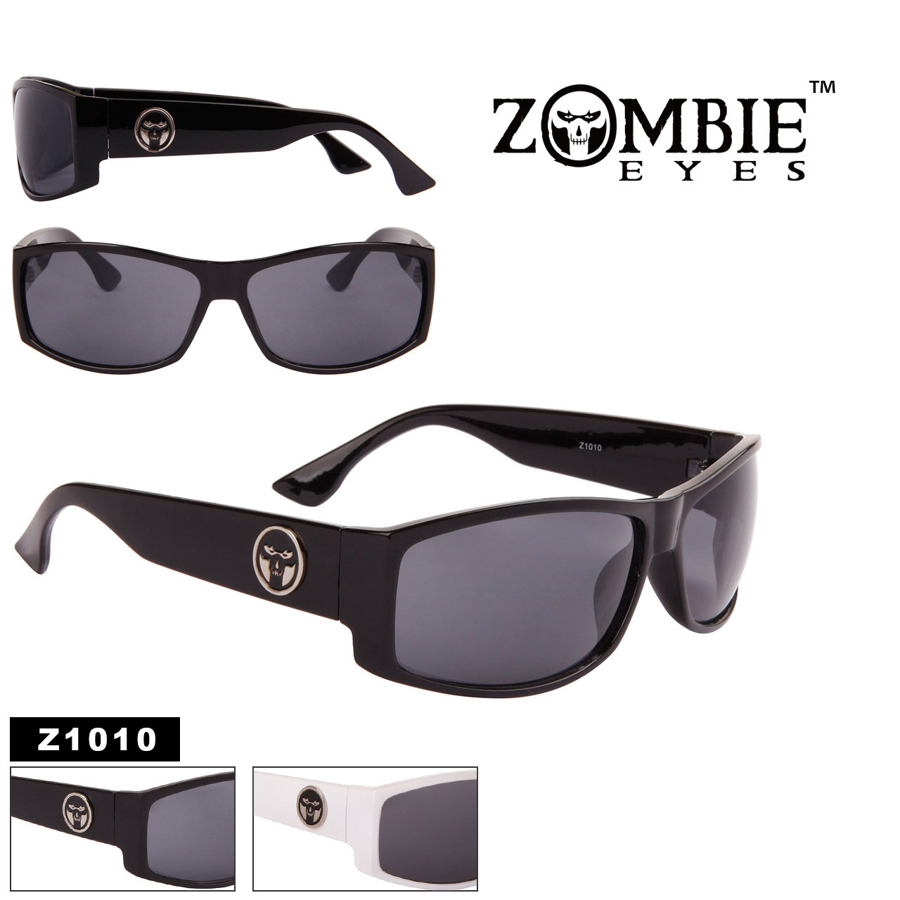 Men's Designer Zombie Eyes™ Sunglasses Wholesale - Style #Z1010