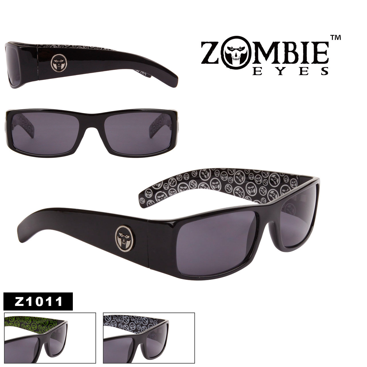 Men's Designer Zombie Eyes™ Wholesale Sunglasses - Style #Z1011