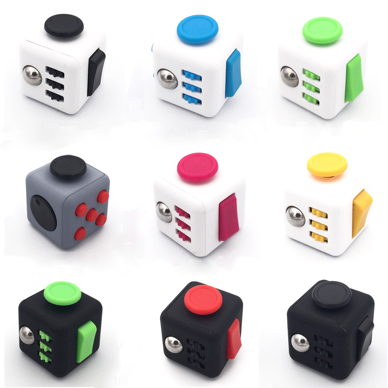 Wholesale Fidget Cubes! (12 pcs)
