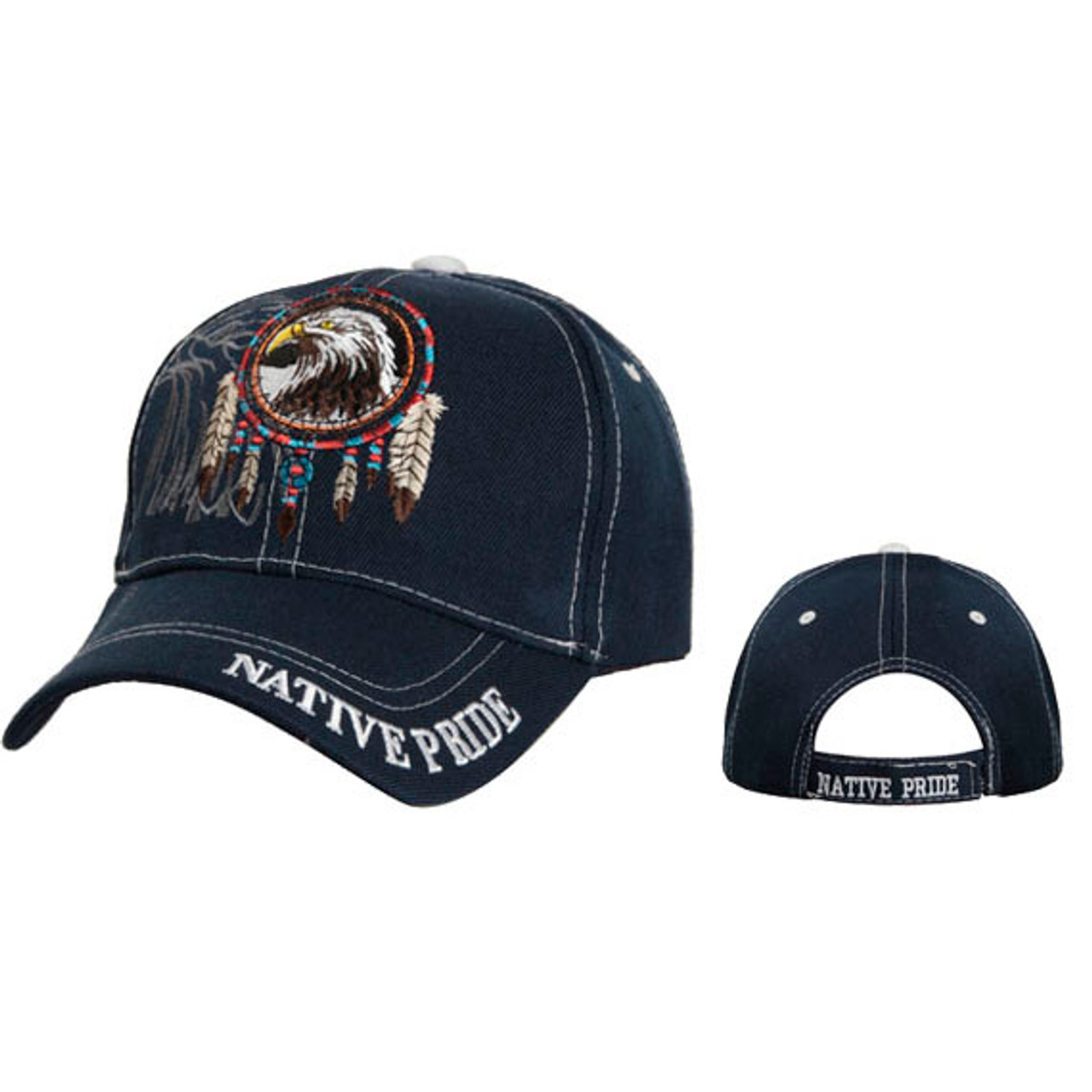 Navy Blue Wholesale Native Pride Cap
