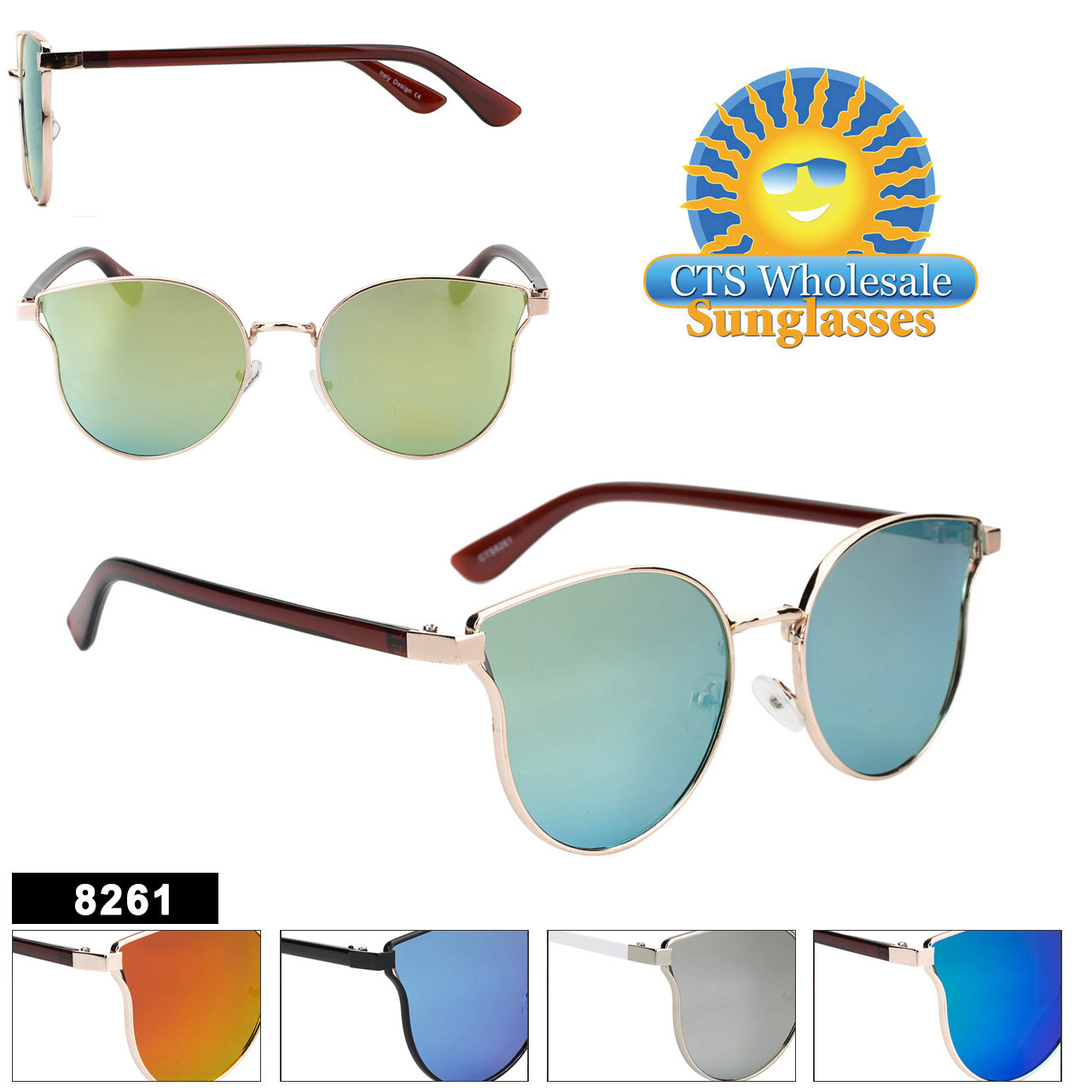 Retro Fashion Sunglasses - Style #8261
