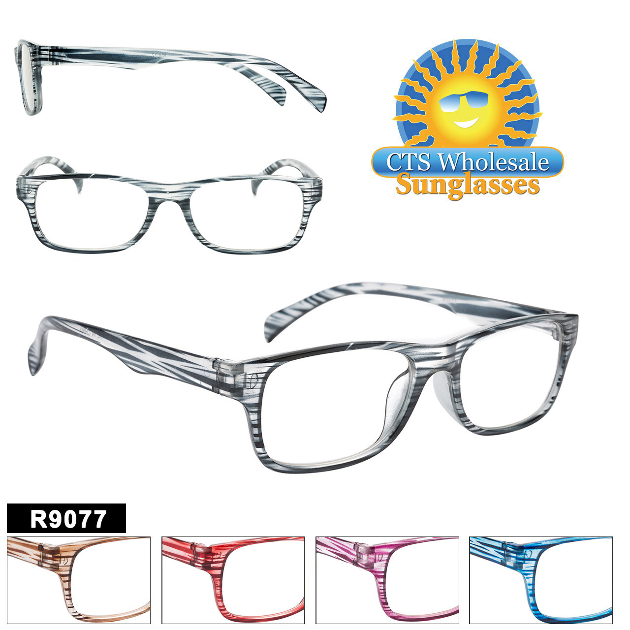 Reading Glasses in Bulk - R9077