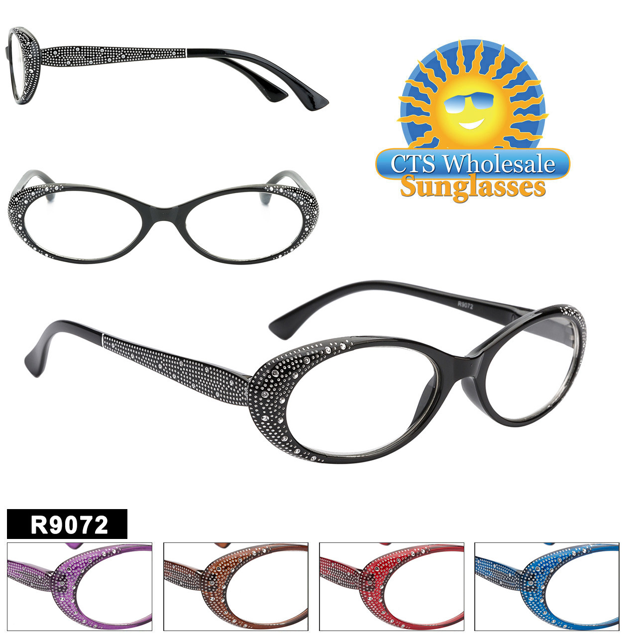 Women's Reading Glasses in Bulk - R9072