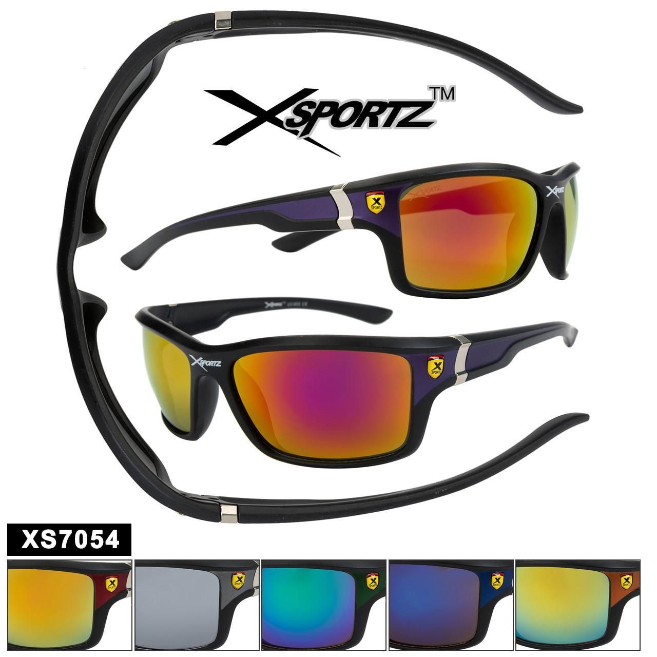 Mirrored Bulk Sports Sunglasses - Style XS7054
