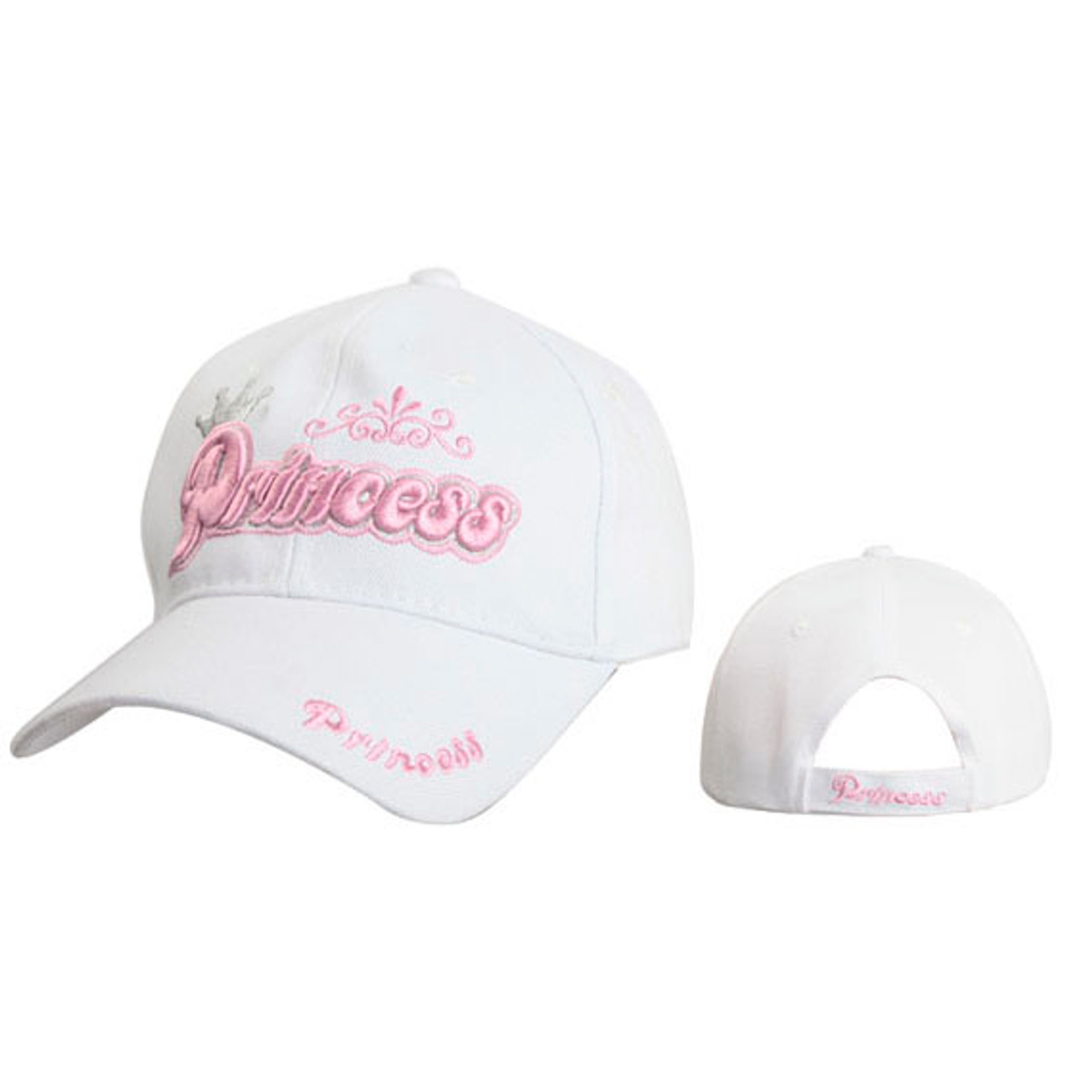 "White Cap ""Princess"" Juniors' White"