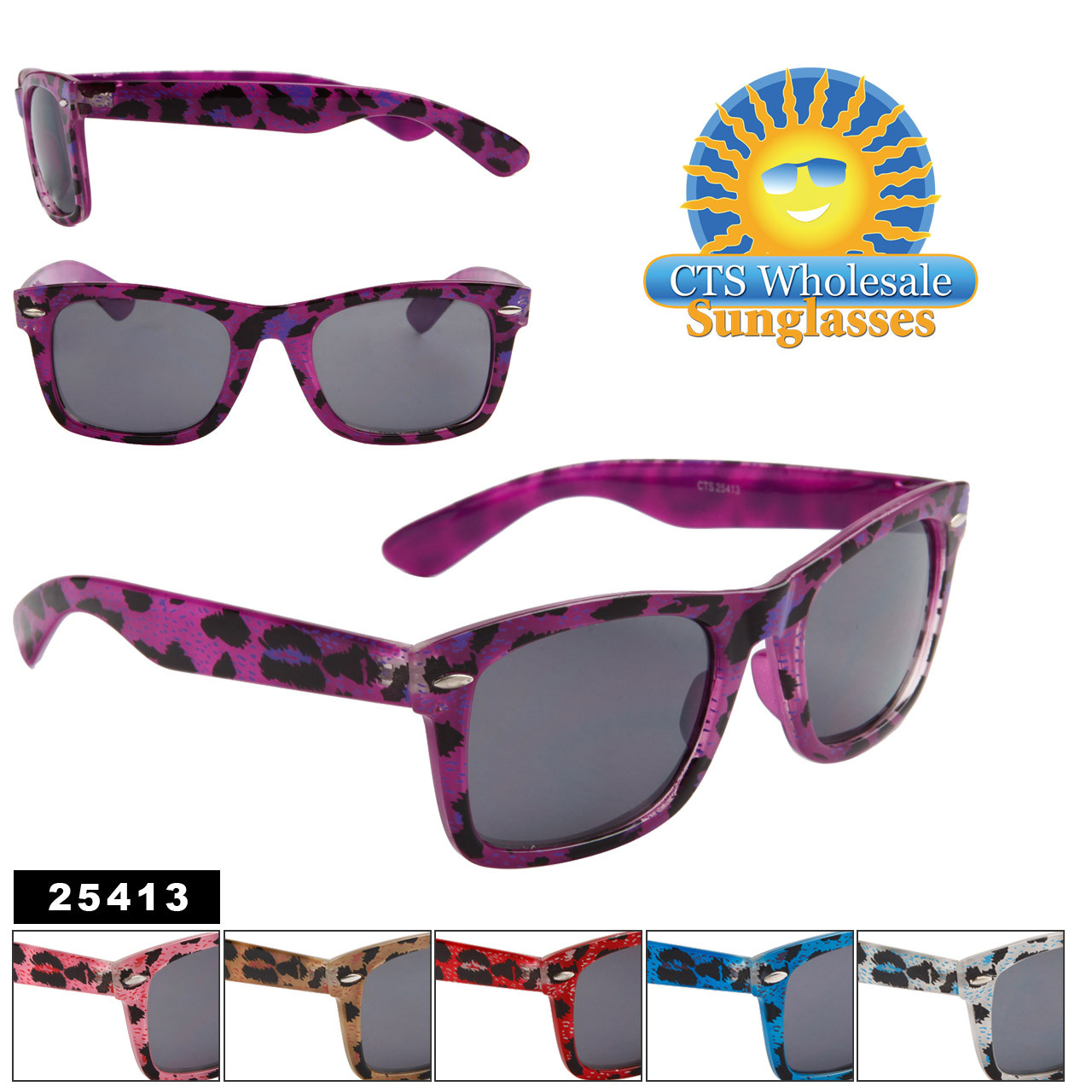 Animal Print California Classics Sunglasses 25413
