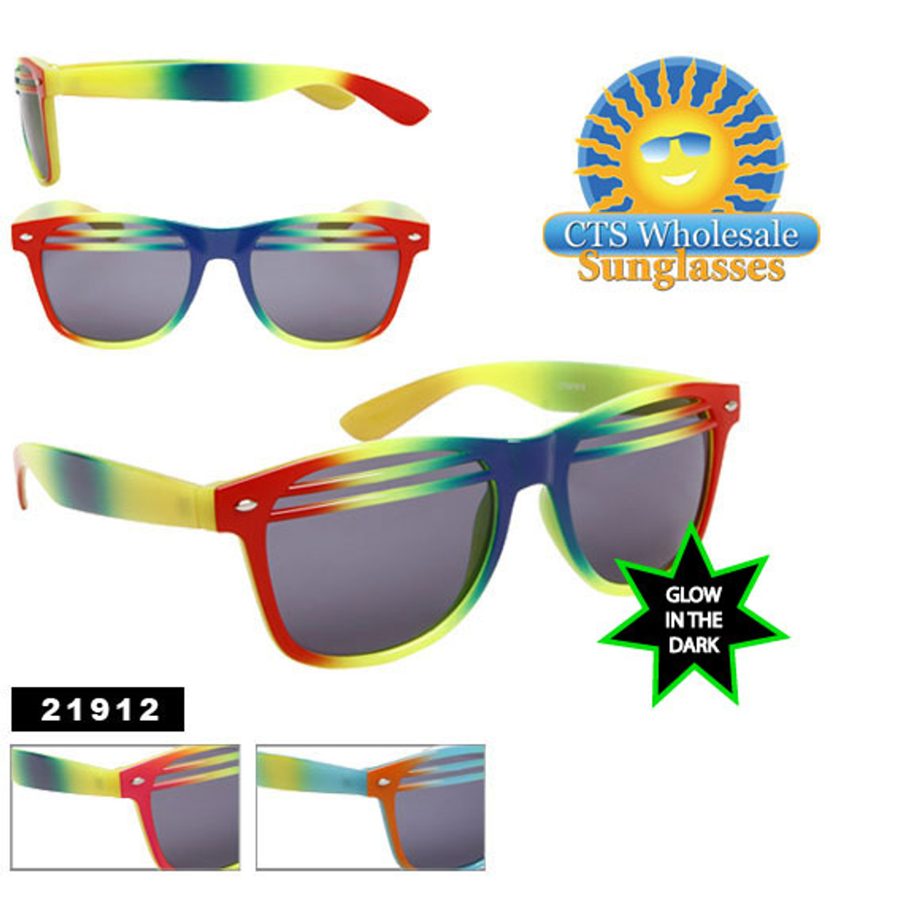 Shutter Shades ~ Glow in the Dark Frames 21912