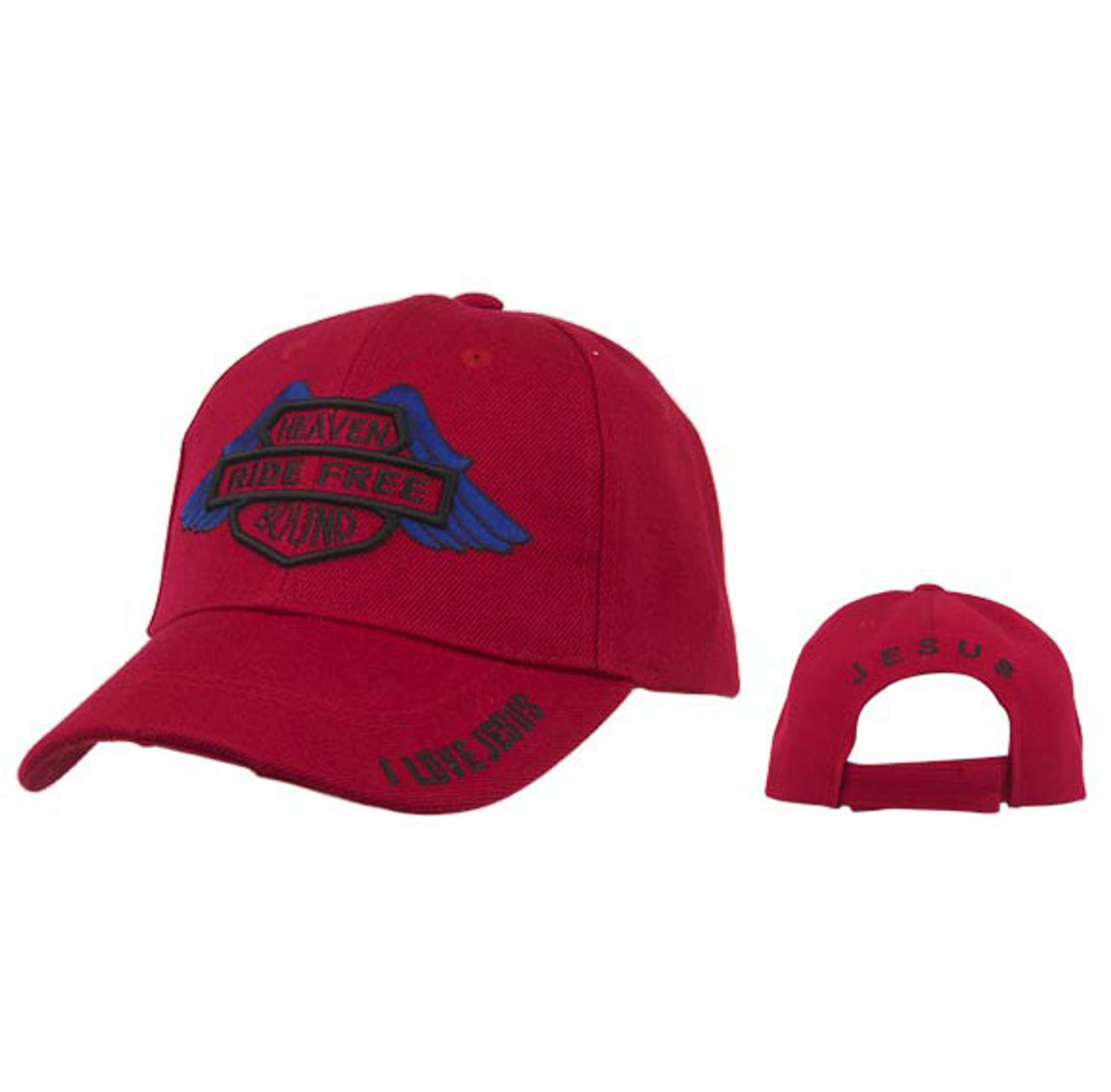 Red Heaven Bound | Ride Free | Wholesale Baseball Caps