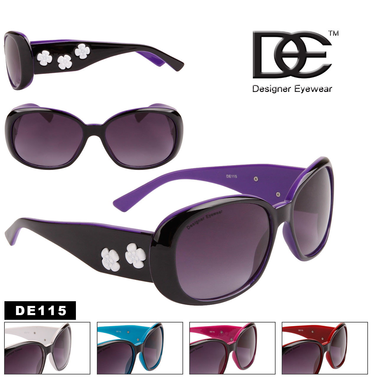 DE™ Fashion Sunglasses by the Dozen - Style #DE115