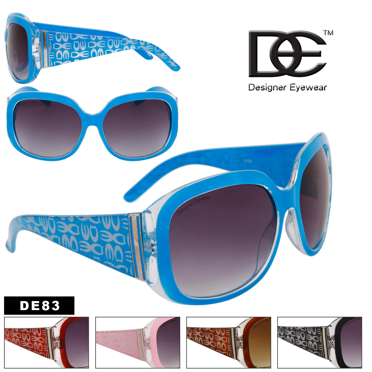 DE™ Bulk Fashion Sunglasses - Style # DE83
