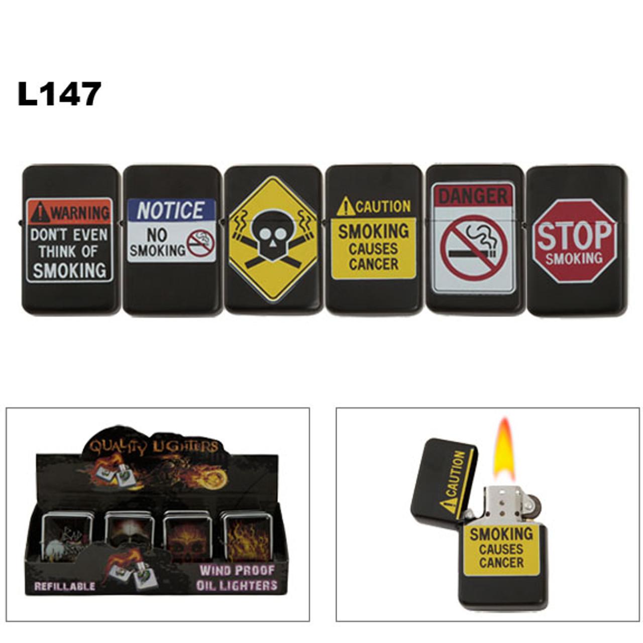 Oil Lighters | Stop Smoking