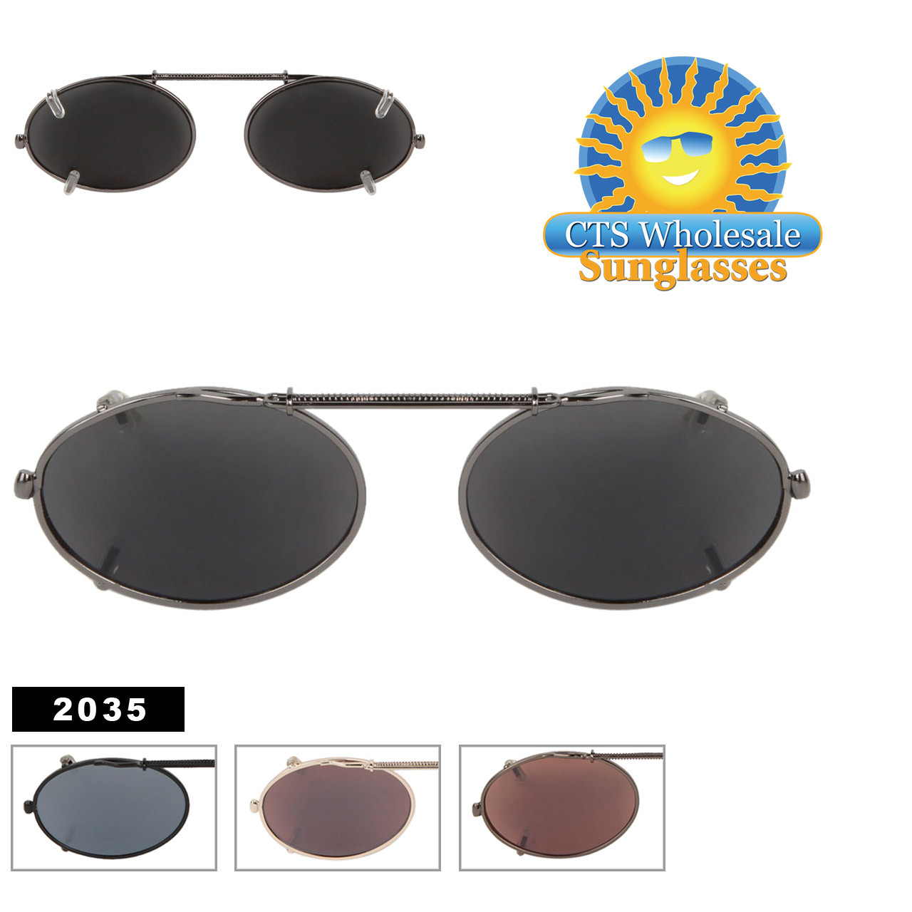 Clip On Sunglasses 2035
