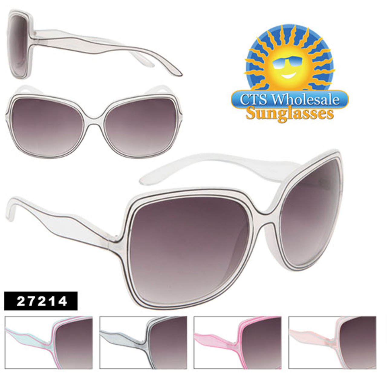 Big Lens Sunglasses 27214