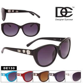 DE™ Designer Eyewear Bulk Cat Eye Sunglasses - Style #DE130 (Assorted Colors) (12 pcs.)