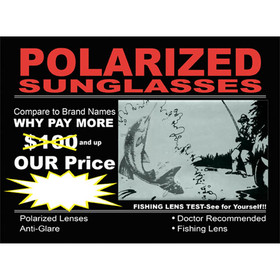 Polarized Sunglasses Sign PS1 (1 pc.)