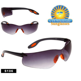 Wholesale Safety Glasses ~ Tinted Lens ~ S106 (12 pcs.)
