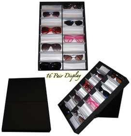 Folding Sunglass Display (holds 16 pair of sunglasses) 7034 (1 pc.)