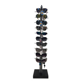 Sunglass Display Rack | Holds 10 Pair