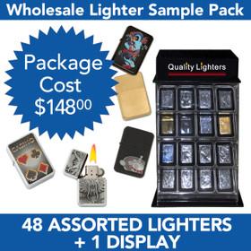 48 Lighters Package Deal SPL3 (48 pcs.+L218) Includes Lighter Display | Holds 32 Lighters