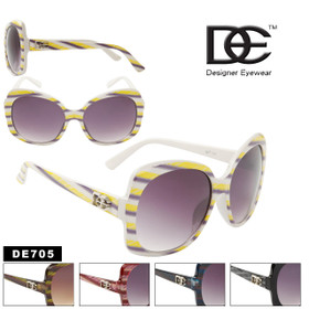 Vintage Sunglasses DE705 Designer Eyewear™ (Assorted Colors) (12 pcs.)