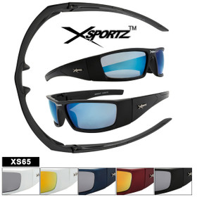 Men's Xsportz™ Sunglasses XS65 NEW Sports Style! (Assorted Colors) (12 pcs.)