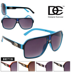 Unisex Sunglasses DE719 Designer Eyewear™ (Assorted Colors) (12 pcs.)
