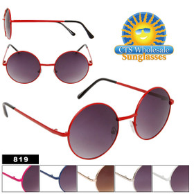 Round Sunglasses 819 John Lennon Inspired (Assorted Colors) (12 pcs.)