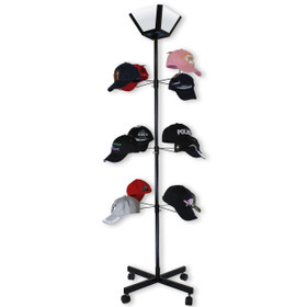 Hat Display D9000 (1 pc.) Rotating Floor Model