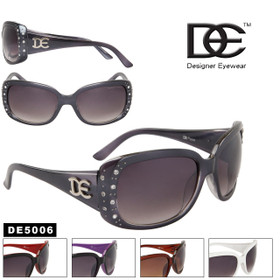 Rhinestone Sunglasses DE5006 Sparkling Design! (Assorted Colors) (12 pcs.)