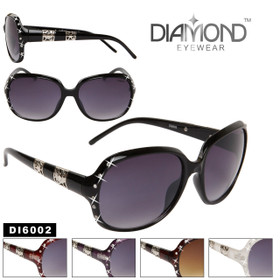 Rhinestone Sunglasses DI6002 Diamond™ Eyewear (Assorted Colors) (12 pcs.)