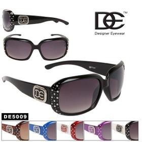 DE™ Designer Eyewear DE5009 Women's Rhinestone Sunglasses (Assorted Colors) (12 pcs.)