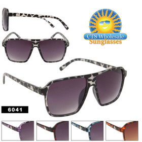 Unisex Aviators 6041 Animal Print Frames! (Assorted Colors) (12 pcs.)