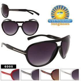Wholesale Aviator Sunglasses 6005 (Assorted Colors) (12 pcs.)