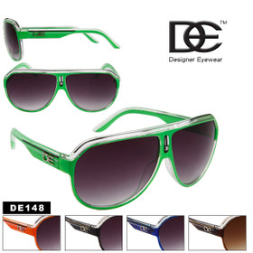 Wholesale Aviator Sunglasses DE148 Unisex Style! (Assorted Colors) (12 pcs.)