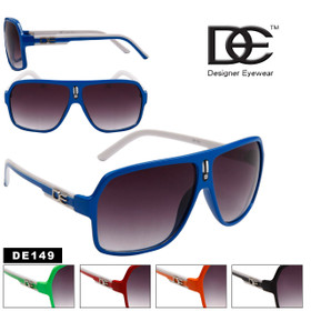 DE™ Aviator Sunglasses DE149 Great New Style (Assorted Colors) (12 pcs.)