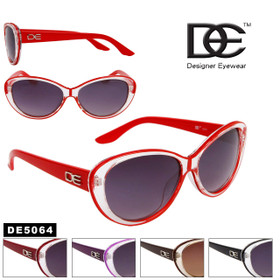 DE™ Cat Eye Wholesale Sunglasses Style # DE5064 (Assorted Colors) (12 pcs.)