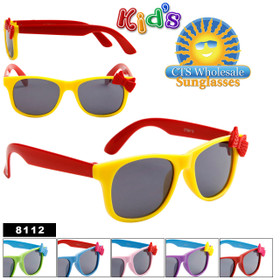 Kid's California Classics Sunglasses by the Dozen  # 8112 (Assorted Colors) (12 pcs.)