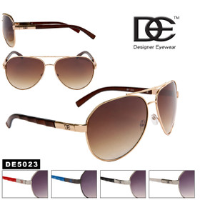 DE™ Wholesale Aviators - Style # DE5023 (Assorted Colors) (12 pcs.)