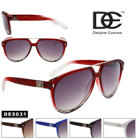 Wholesale Aviator Sunglasses - Style # DE5031 (Assorted Colors) (12 pcs.)