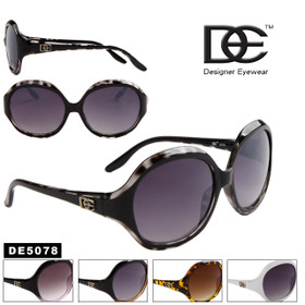 DE™ Designer Sunglasses Wholesale - Style # DE5078 (Assorted Colors) (12 pcs.)