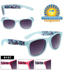 Bulk California Classics Sunglasses - Style # 8127 (Assorted Colors) (12 pcs.)