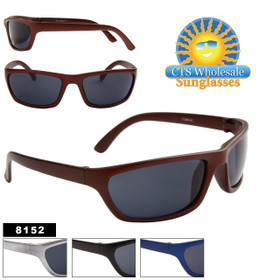 Cheap Wholesale Sunglasses - Style #8152 (12pcs.) (Assorted Colors)