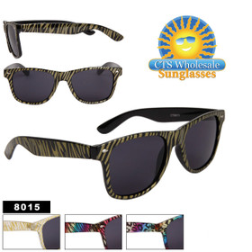 Bulk California Classics Sunglasses - Style # 8015 (Assorted Colors) (12 pcs.)