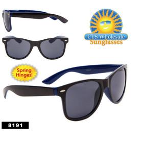 Bulk California Classics - Style #8191 Spring Hinge - Black & Navy Blue  (12 pcs.)