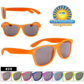Bulk California Classics Sunglasses - Style #829 Multi-Color! (Assorted Colors) (12 pcs.)