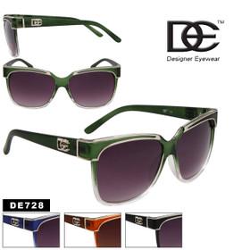 Wholesale DE™ Sunglasses - Style # DE728 (Assorted Colors) (12 pcs.)