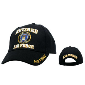 Military Baseball Caps C132 (1 pc.) Retired Air Force
