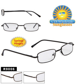 Metal Reading Glasses with Spring Hinges R9006
